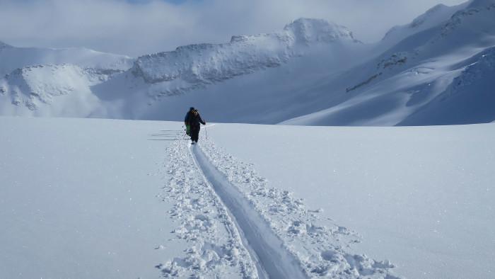 An fünf Terminen bietet die AK heuer erstmals Skitouren an. © puckler_muskau/flickr, AK Stmk
