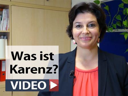 Birgit Klöckl erklärt, was Karenz genau ist. © -, AK StTmk