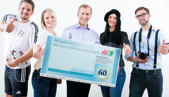 Jetzt den 60-Euro Bildungsscheck einlösen © Kanizaj, AK Stmk
