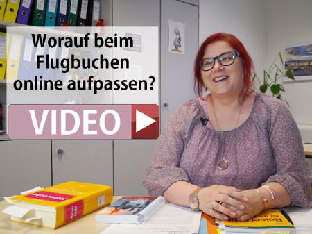 Konsumentenschutz-Expertin Birgit Auner gibt im Video Tipps für die Flugbuchung online. © -, AK Stmk