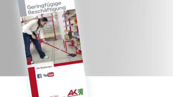 Broschüre Geringfügige Beschäftigung © -, -