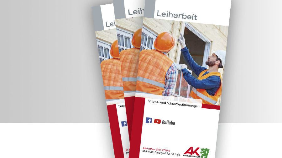 Broschüre Titelbild Leiharbeit © -, -