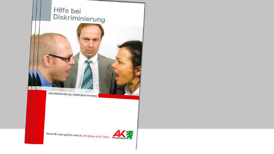 "Broschüre ""Hilfe bei Diskriminierung"". © -, AK Stmk"