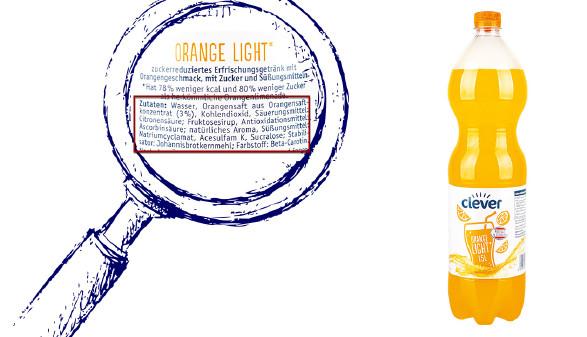 Mit Light-Limonaden lassen sich zwar teilweise Kalorien sparen, dafür enthalten sie in der Regel aber größere Mengen an Süßungsmitteln. © VKI, AK Stmk