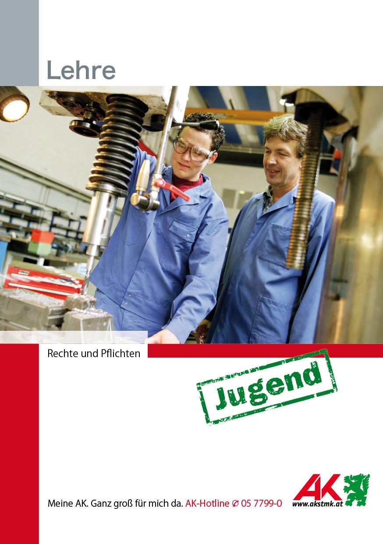 Deckblatt Broschüre Lehre Rechte und Pflichten © -, AK Stmk