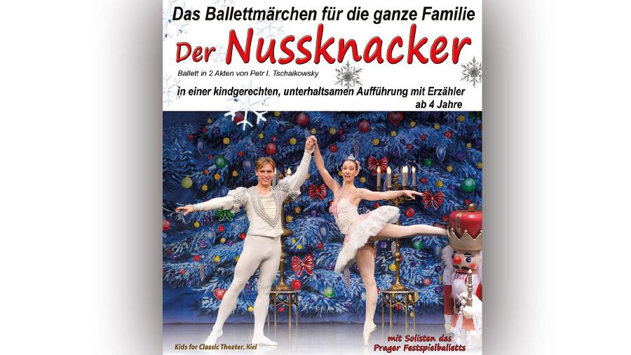Peter Tschaikowskys weltberühmtes Ballettmärchen für die ganze Familie am 9. Dezember um 14 Uhr im Kammersaal Graz. © -, AK Stmk