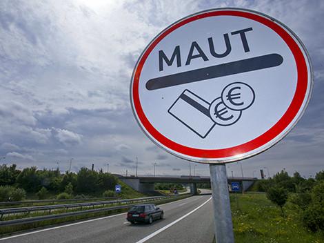 Maut-Schild © Jens Buettner, APA picture desk