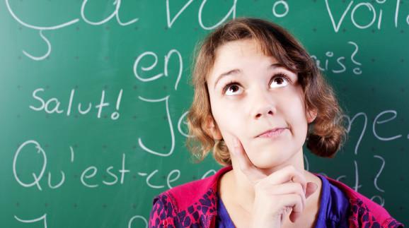 Mädchen vor Tafel © contrastwerkstatt, stock.adobe.com