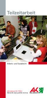 Teilzeit Deckblatt Broschüre © -, AK Stmk