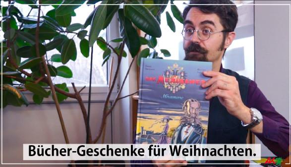 Büchergeschenke zu Weihnachten, empfohlen von Alex aus der AK-Bibliothek. © -, AK Stmk