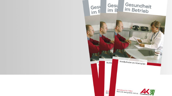 Broschüre Gesundheit im Betrieb Titelbild © -, -
