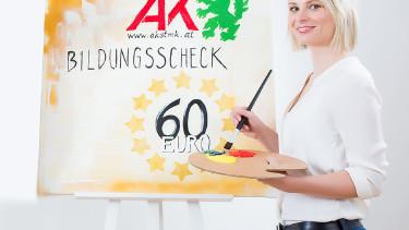 60 Euro in der VHS jedes Semester einlösen. © Kanizaj, AK Stmk