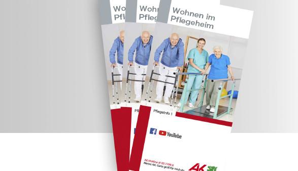 Broschüre Wohnen im Pflegeheim © -, -