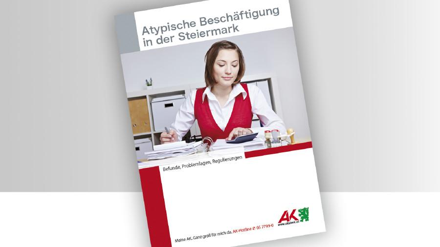 Broschüre Atypitsche Beschäftigung © -, -