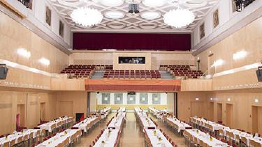Kammersaal mit Maturaballbestuhlung © Selina Graf, AK Steiermark
