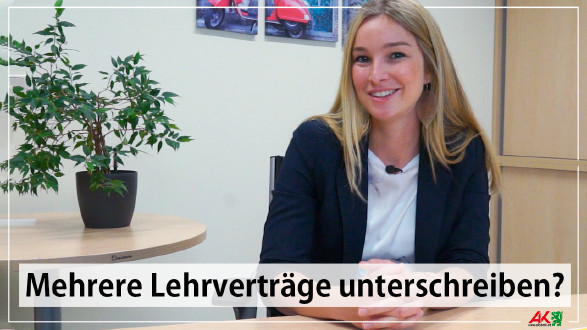 Bildungsexpertin Linda Handl erklärt, dass man den Vertrag auch wieder auflösen kann. © -, AK Stmk