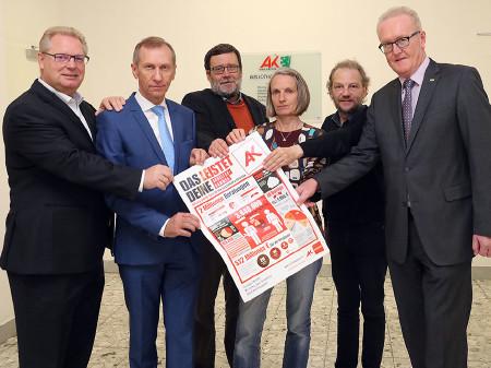 Alle Fraktionen pro AK, nur FA dagegen! © Radspieler, AK Stmk