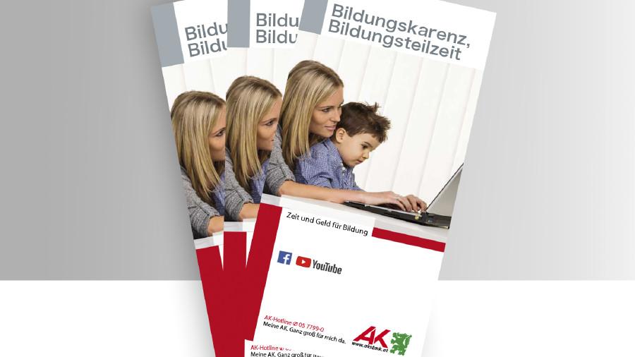 Broschüre Titelbild Bildungskarenz © -, -