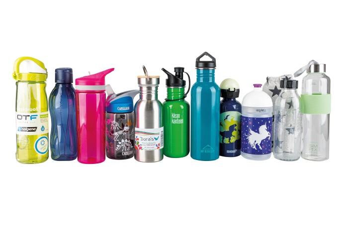 Diese elf Trinkflaschen wurden einem umfassenden Test unterzogen. © -, AK Stmk