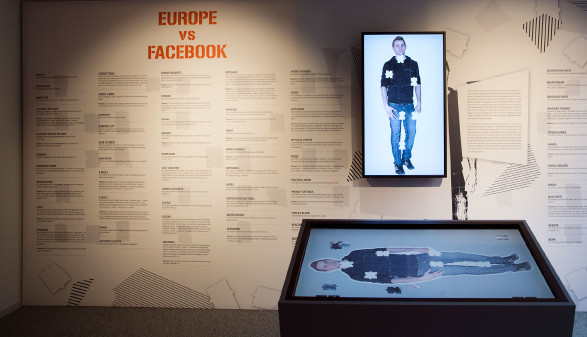 Ausstellung in der AK Wien über unsere Daten und was damit geschieht. © LISI SPECHT www.lisi.at, AK Stmk