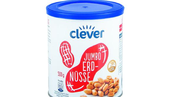 Die Clever-Erdnüsse schnitten beim Test mit einer Top-Note ab. © VKI, AK Stmk