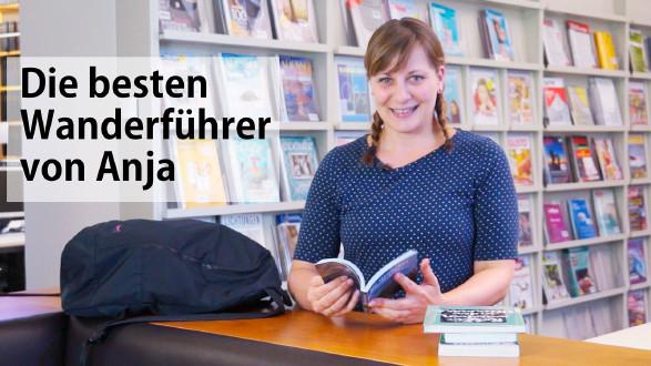 Anja präsentiert im Video vier Wanderführer. © -, AK Stmk