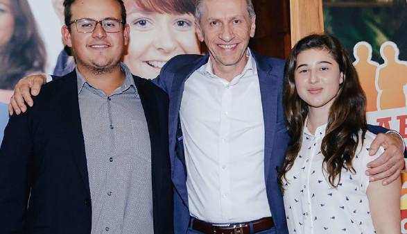 AK-Präsident Josef Pesserl mit den Jugendvertrauensräten Jeremy Stobl und Victoria Schwarz. © Graf, AK Stmk