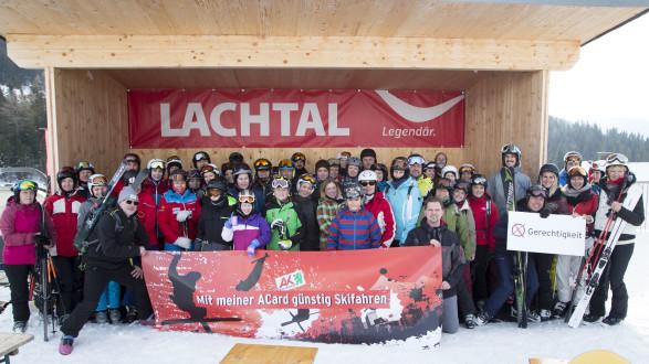 Besucherrekord beim AK-Skitag 2019 am Lachtal. © Temel, AK Stmk