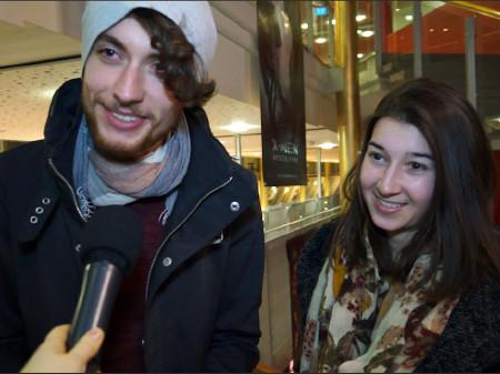 """Interview zur Kinopremiere vom französischen Film """"Lolo"""" © -, AK Stmk"""