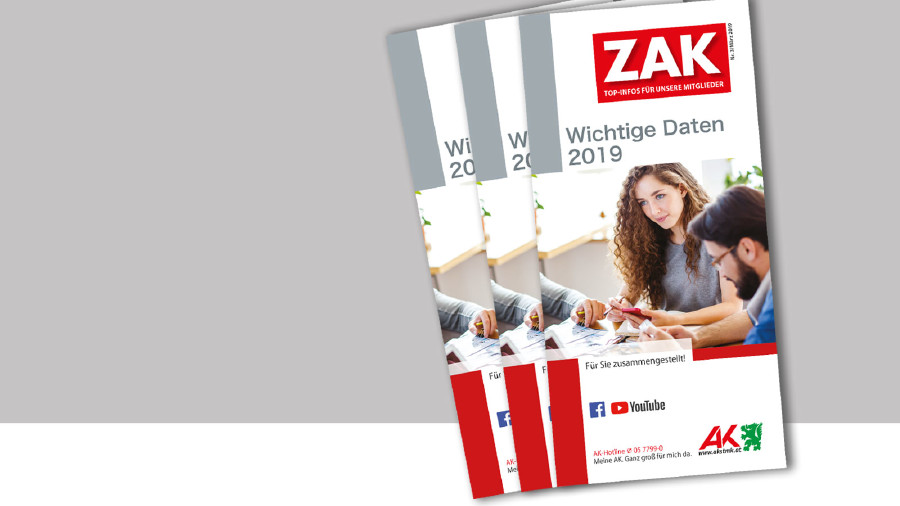 AK-Broschüre: Wichtige Daten 2019 © -, AK Stmk