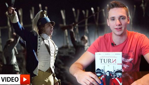 David stellt eine seiner Lieblingsserien vor: Turn: Washington's Spies. © -, AK Stmk