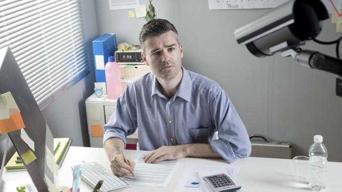 Arbeitgeber können ihre Beschäftigten fast lückenlos überwachen - und nutzen die immer mehr.  © StockPhotoPro - stock.adobe.com, AK Stmk