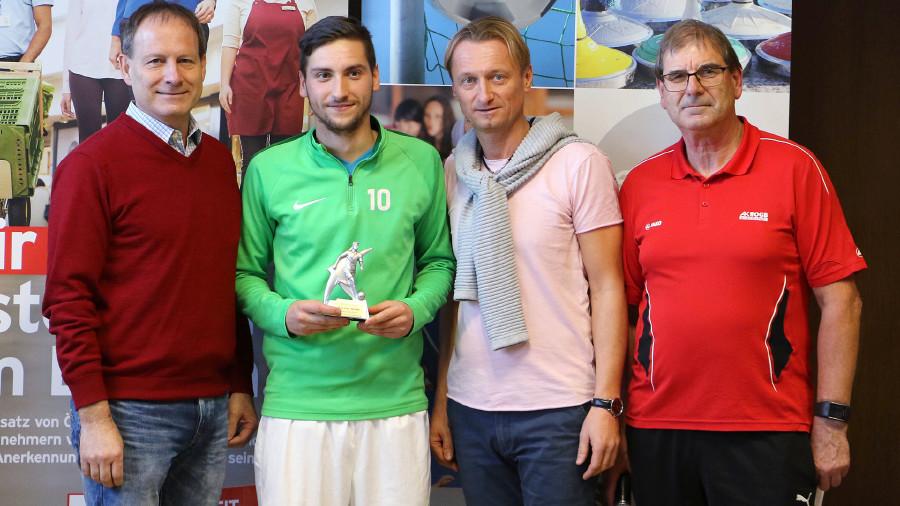 Bester Torschütze im Turnier war Claudio Früstük mit elf Treffern in fünf Spielen.. © AK ÖGB Betriebssport, AK Stmk