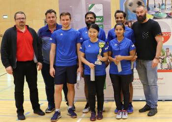 1. Badminton-Betriebsmeisterschaft © AK Stmk/Betriebssport