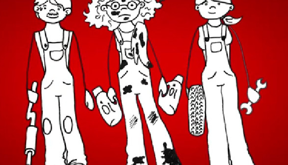 Comic: Ein Lehrling und seine Ausbilder © News on Video, News on Video
