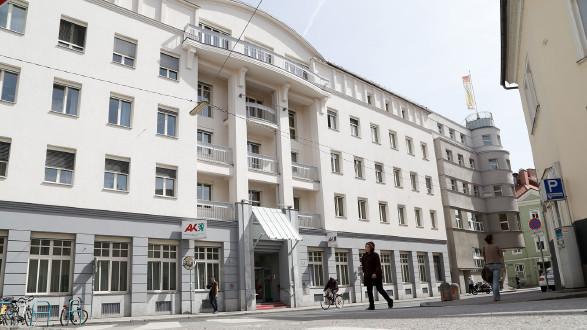 Die Arbeiterkammer Steiermark sitzt in der Hans-Resel-Gasse in Graz und hat 13 Außestellen. © Buchsteiner, AK Stmk