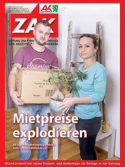 Deckblatt der ZAK im November 2017 © -, AK Stmk