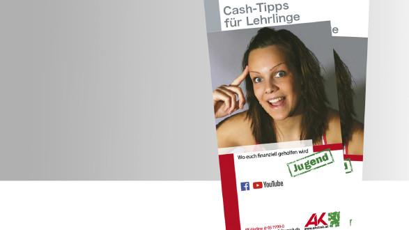 Titelbild Broschüre Cash Tipps für Lehrlinge © -, -