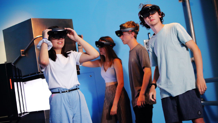Auch Augmented Reality kann man im neuen CoSa erleben. © UMJ-J.J.Kucek, AK Stmk