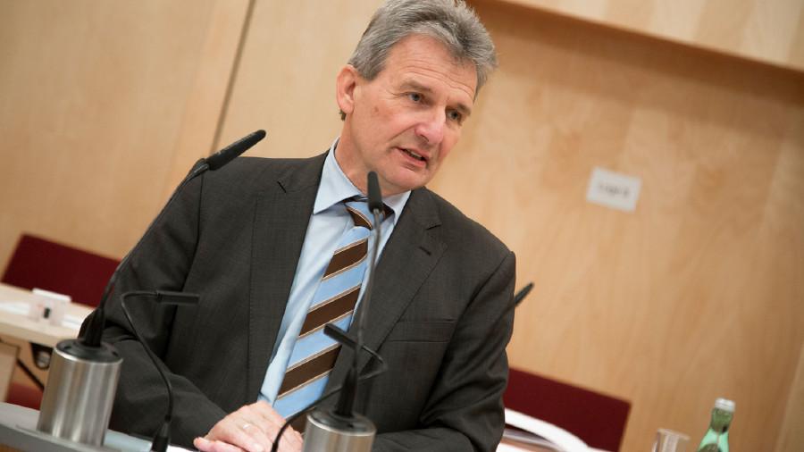 ÖGB-Präsident Erich Foglar sprach in der Vollversammlung © Graf-Putz, AK Stmk