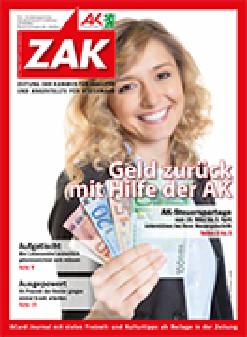 Titelblatt ZAK © Daniel Ernst, Fotolia