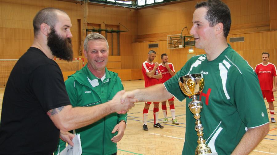 Platz 3 für das Team der Hasslacher Preding Holzindustrie. © AK Stmk, AK Stmk