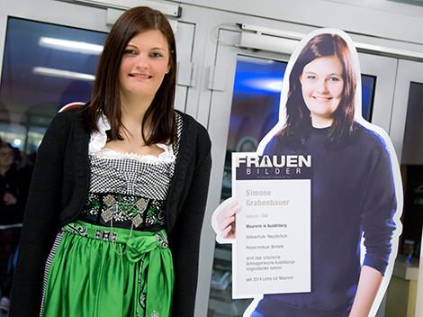 Simone Grabenbauer wird Mauerin © Graf, AK Stmk